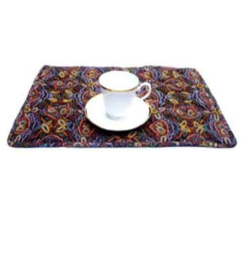 Placemat Keringke Brown Set of 4 - Click Image to Close